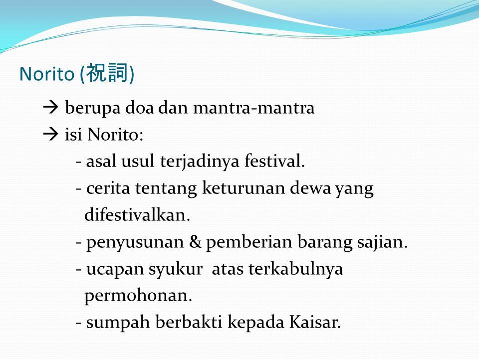 Norito (祝詞)