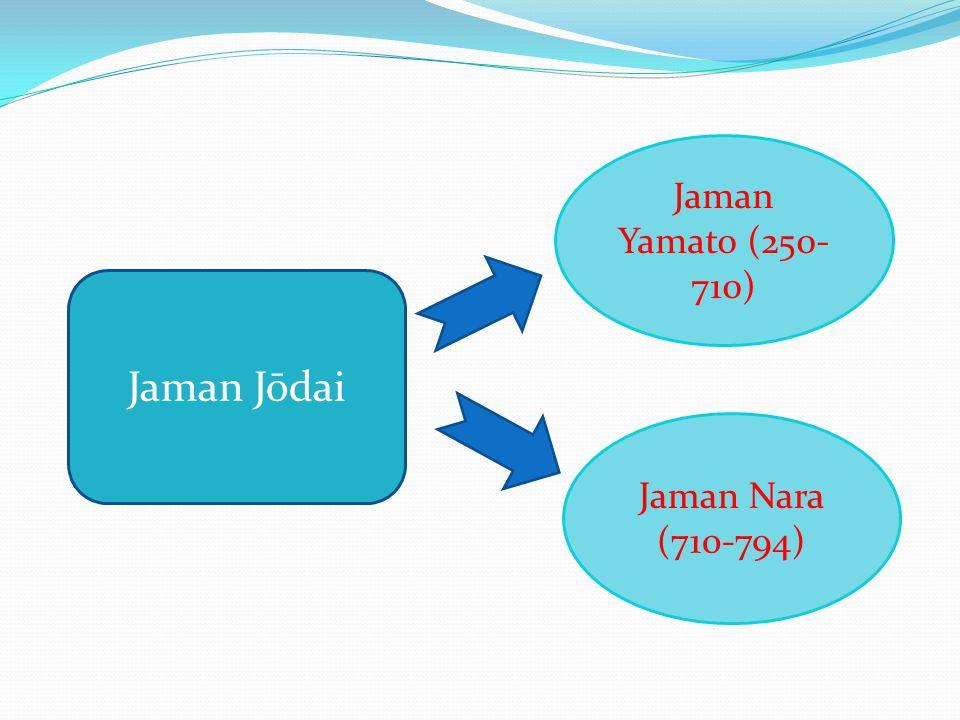 Jaman Yamato (250-710) Jaman Jōdai Jaman Nara (710-794)