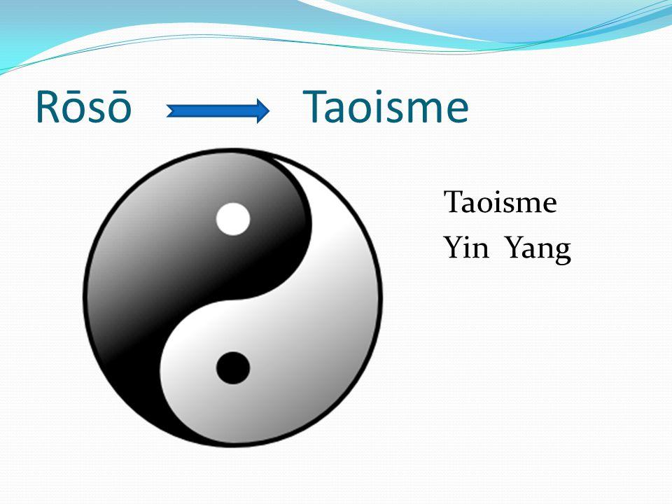 Rōsō Taoisme Taoisme Yin Yang