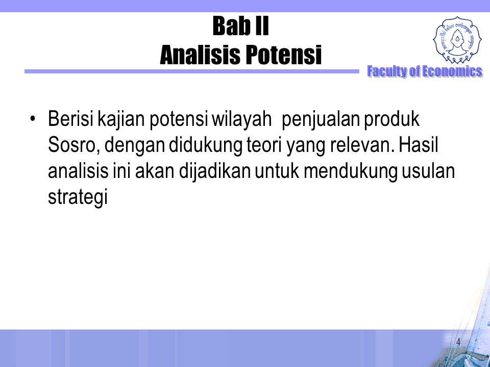 Bab II Analisis Potensi