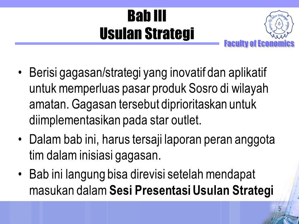 Bab III Usulan Strategi