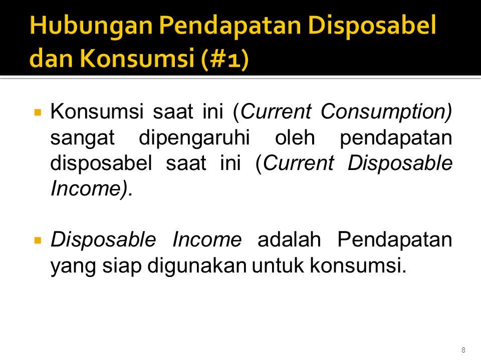 Hubungan Pendapatan Disposabel dan Konsumsi (#1)