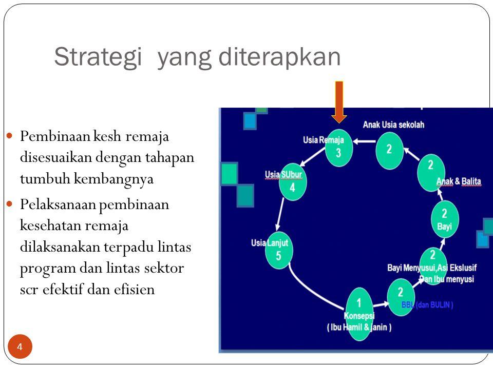 Strategi yang diterapkan