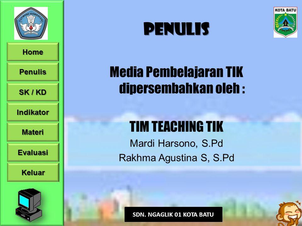 Media Pembelajaran TIK dipersembahkan oleh :