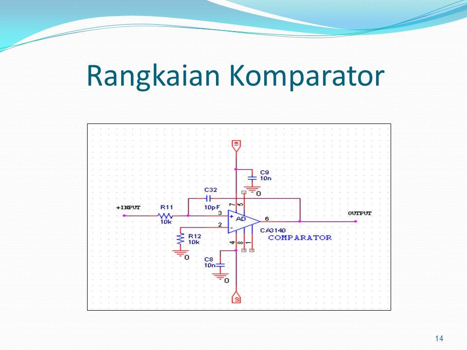 Rangkaian Komparator