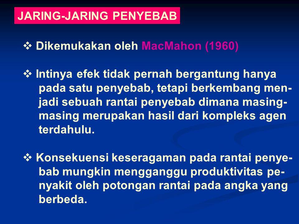 JARING-JARING PENYEBAB