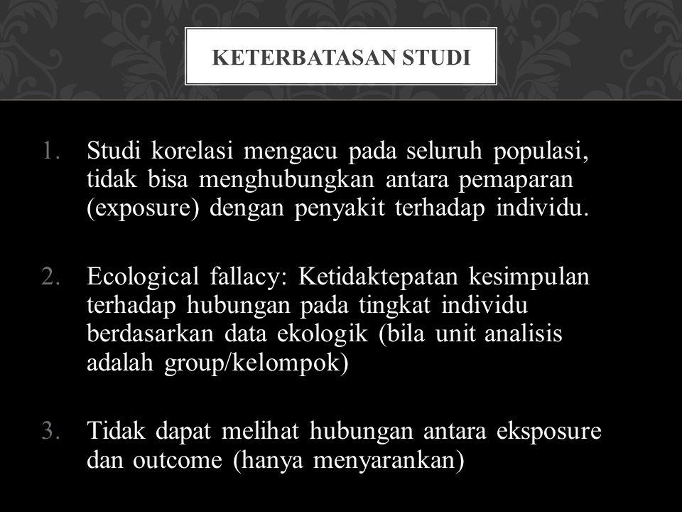 Keterbatasan Studi