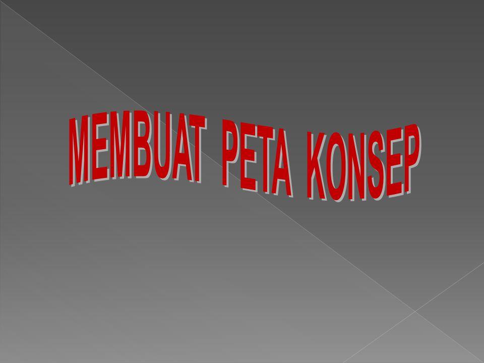 MEMBUAT PETA KONSEP