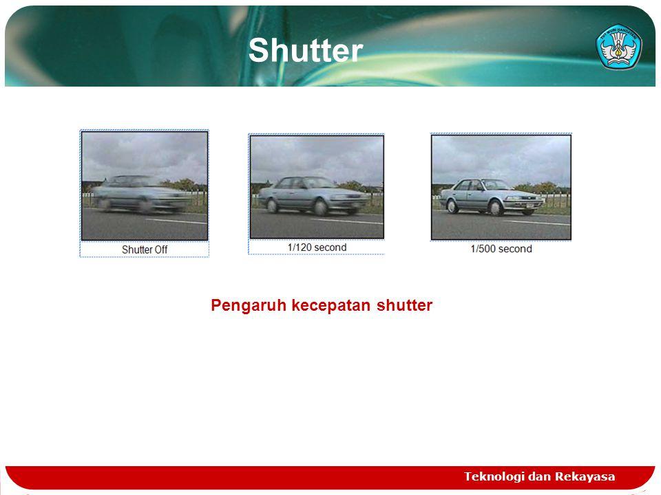 Shutter Pengaruh kecepatan shutter Teknologi dan Rekayasa
