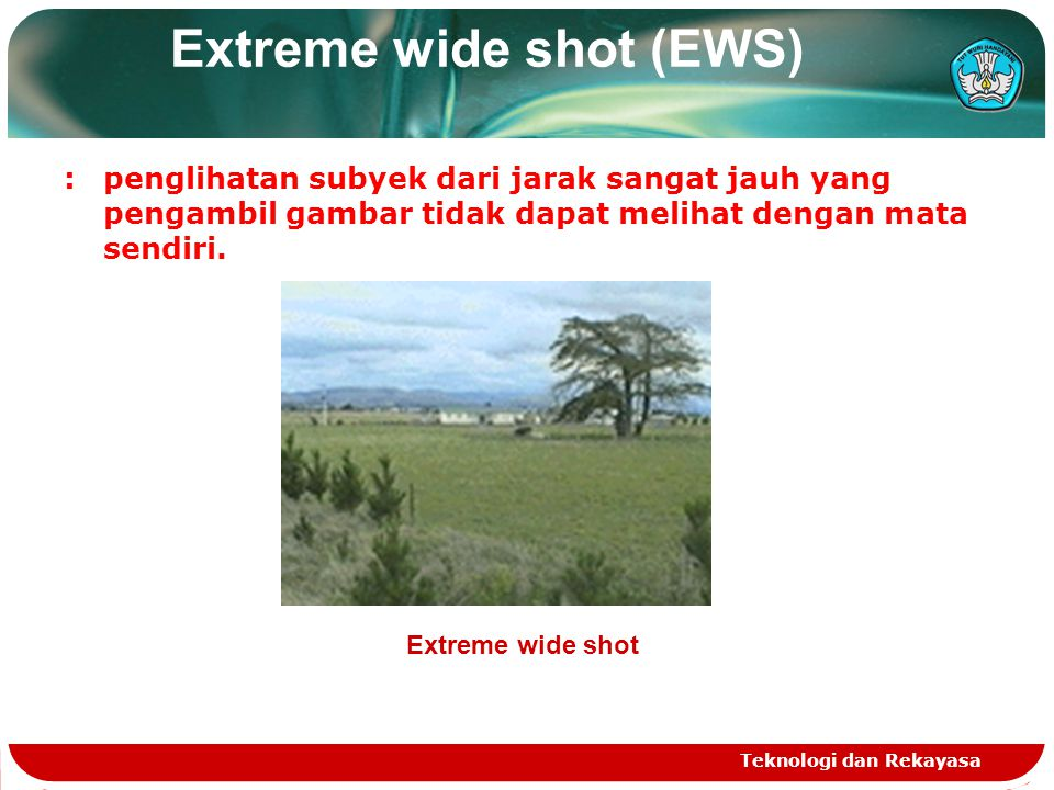 Extreme wide shot (EWS)