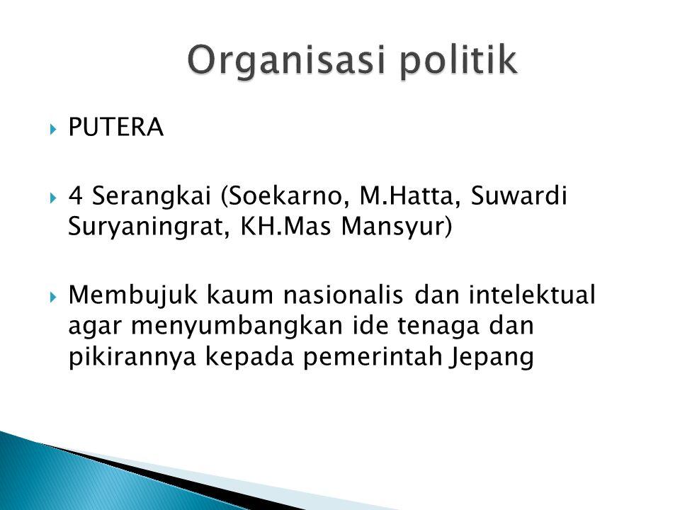 Organisasi politik PUTERA