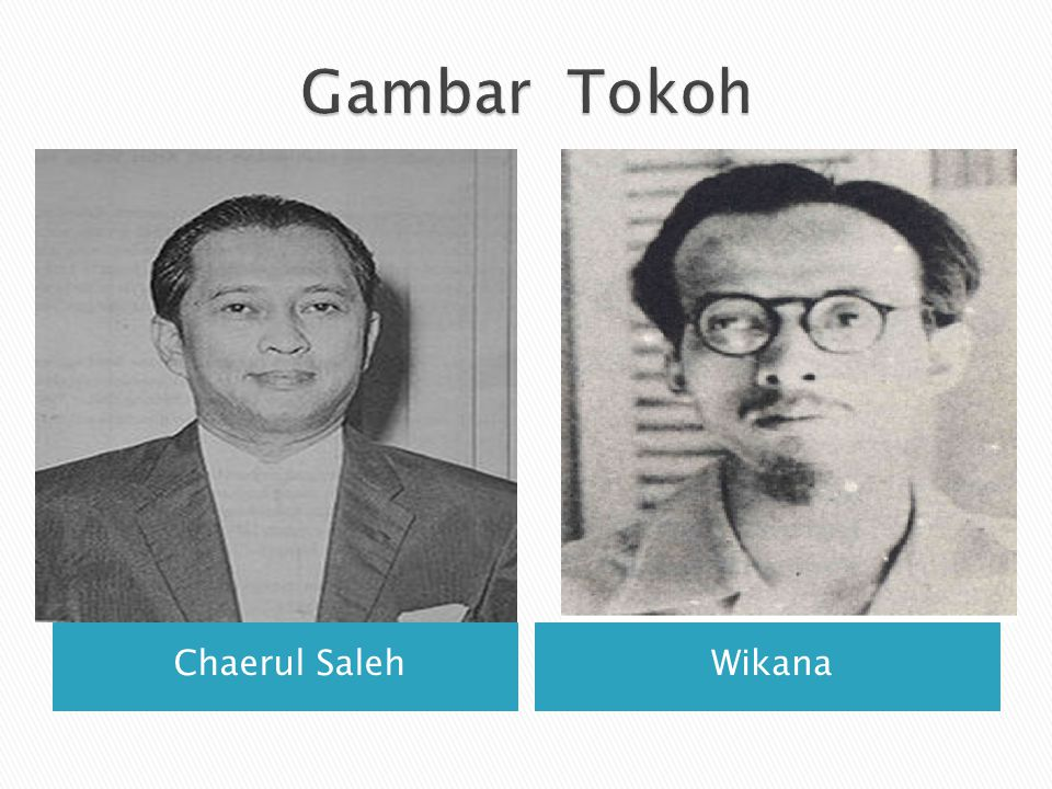 Gambar Tokoh Chaerul Saleh Wikana