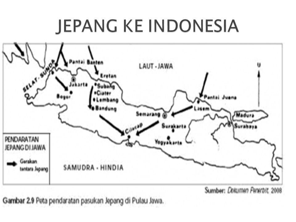 JEPANG KE INDONESIA