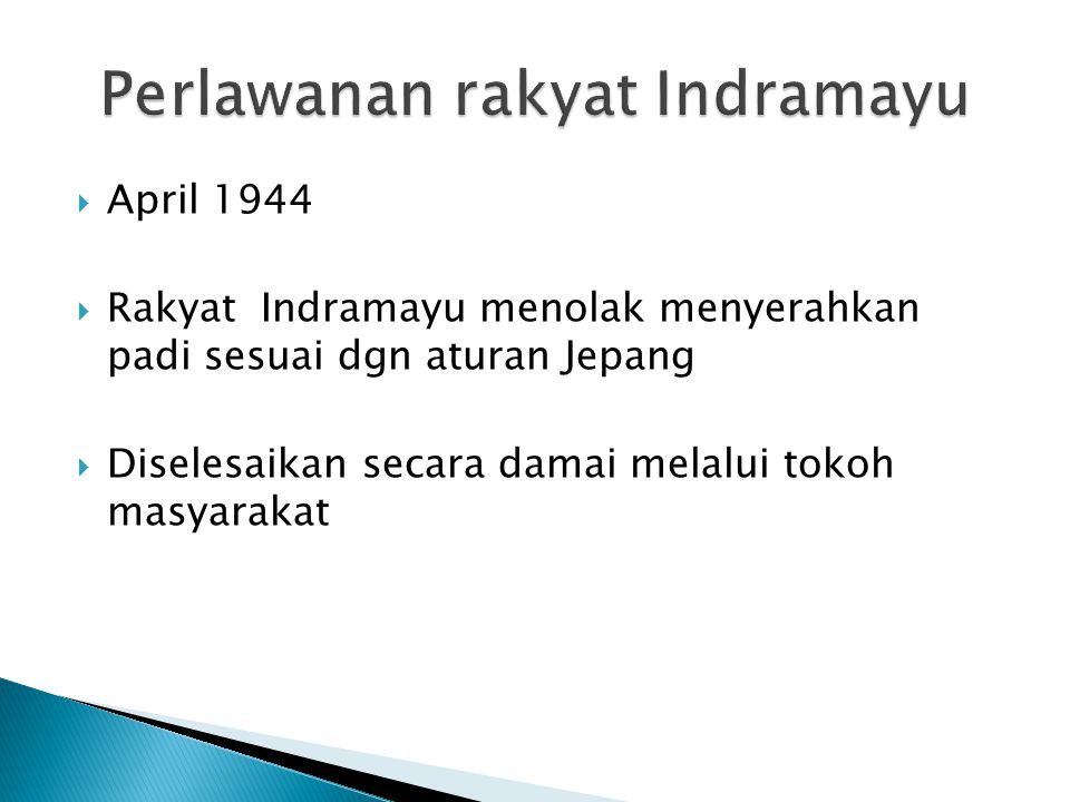 Perlawanan rakyat Indramayu