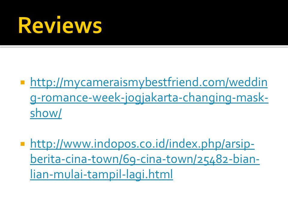 Reviews http://mycameraismybestfriend.com/wedding-romance-week-jogjakarta-changing-mask-show/