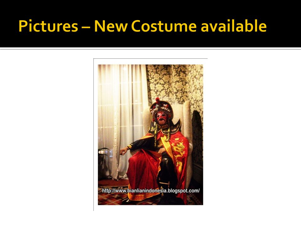 Pictures – New Costume available