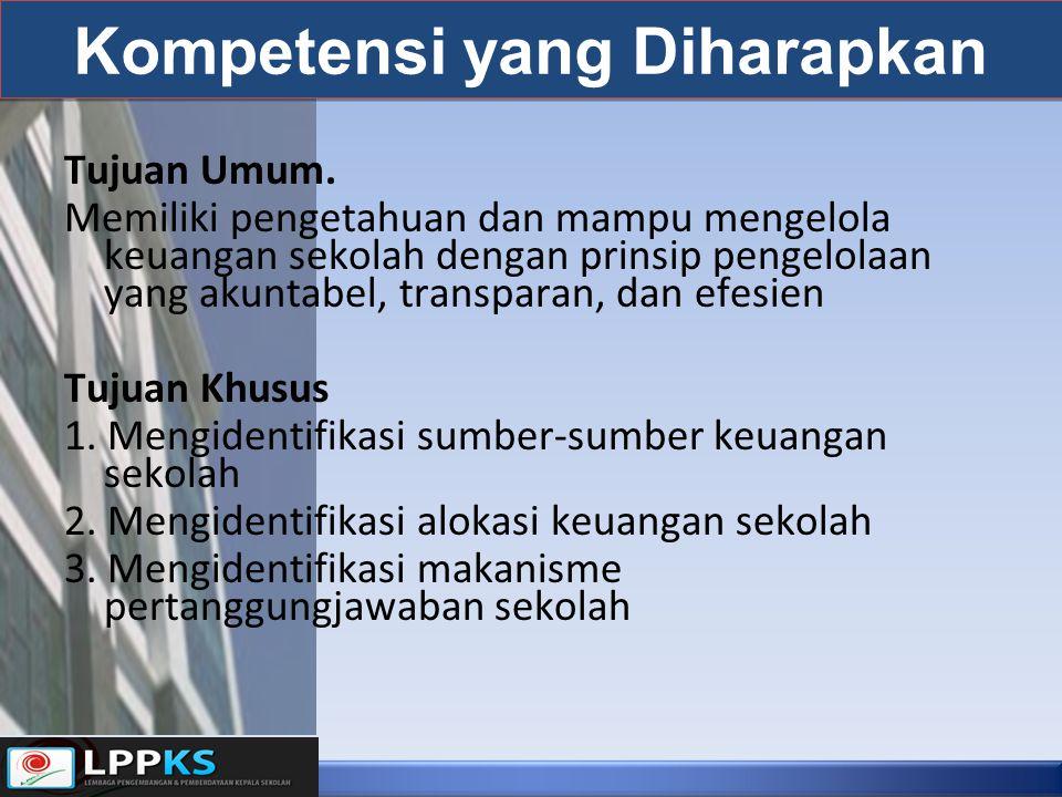 Kompetensi yang Diharapkan