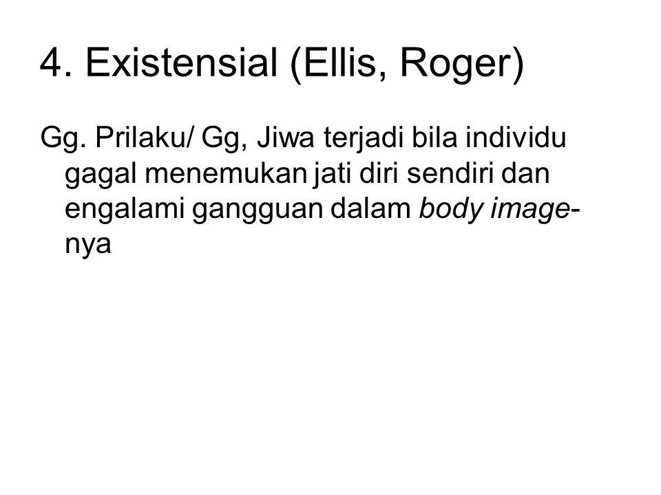 4. Existensial (Ellis, Roger)