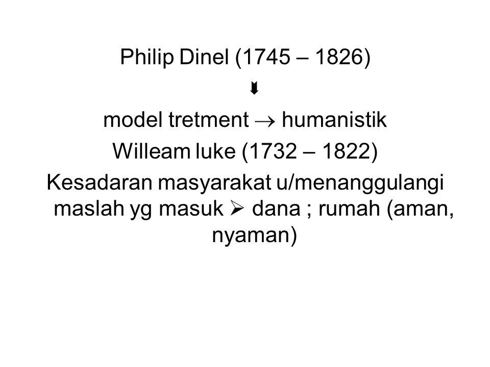 model tretment  humanistik