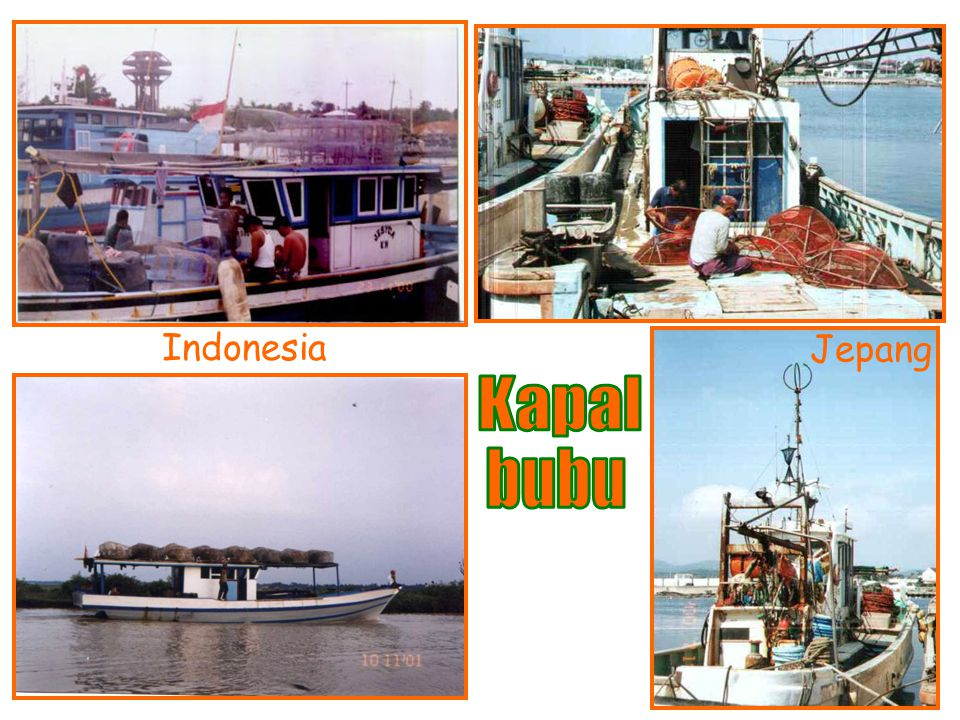 Indonesia Jepang Kapal bubu