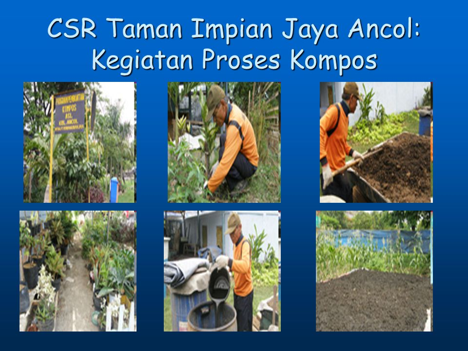 CSR Taman Impian Jaya Ancol: Kegiatan Proses Kompos