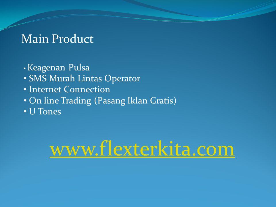 www.flexterkita.com Main Product SMS Murah Lintas Operator