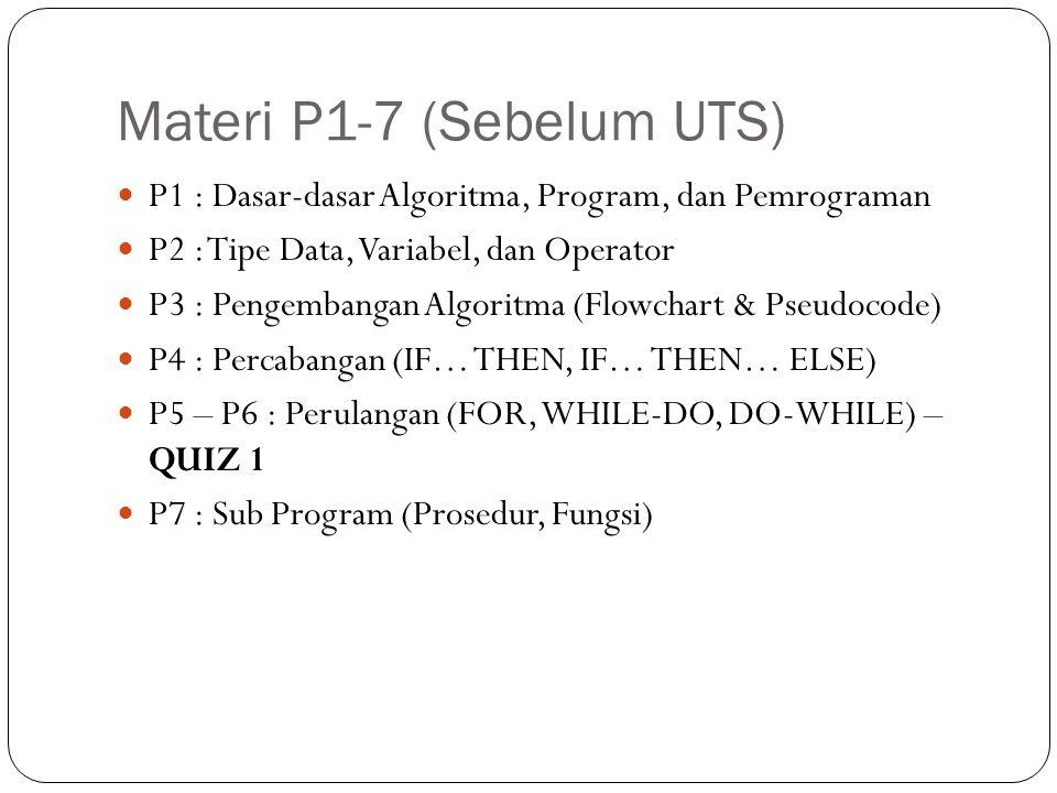 Materi P1-7 (Sebelum UTS)
