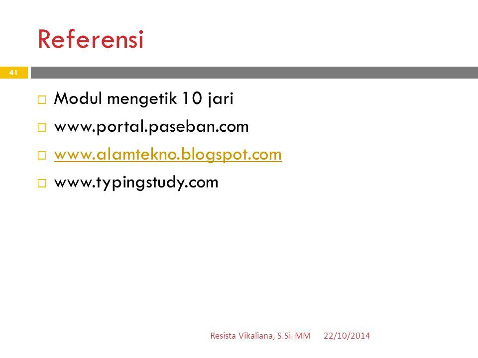 Referensi Modul mengetik 10 jari www.portal.paseban.com