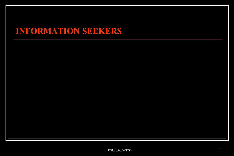 INFORMATION SEEKERS Pert_2_inf_seekers