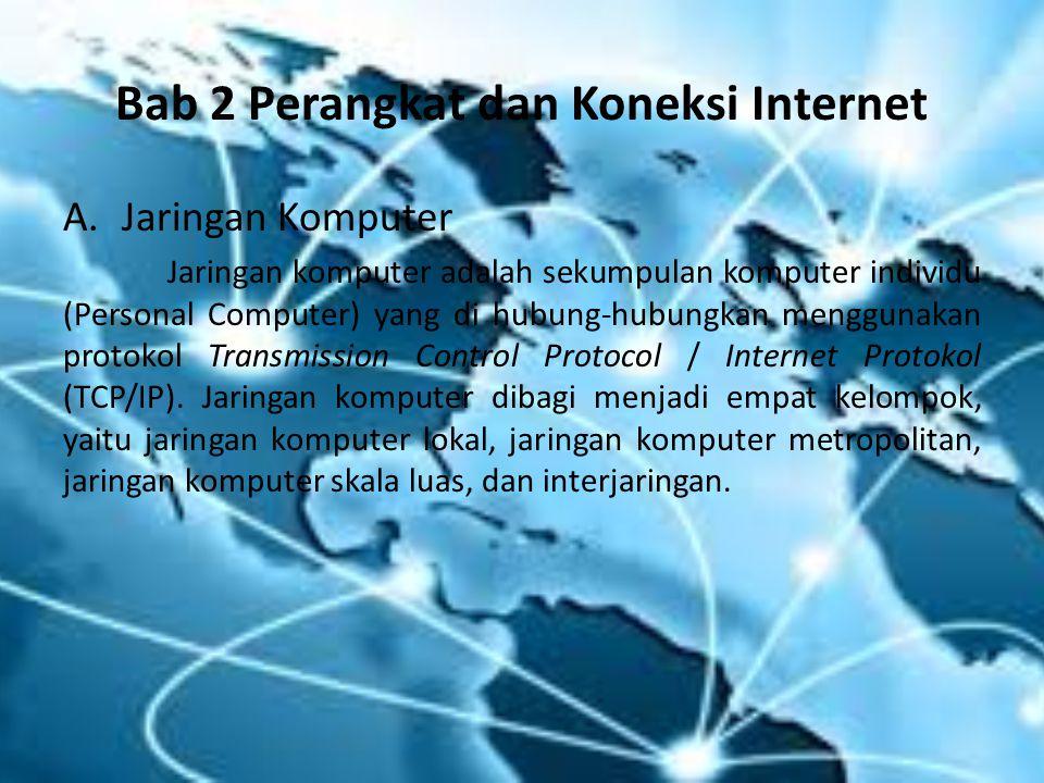 Bab 2 Perangkat dan Koneksi Internet