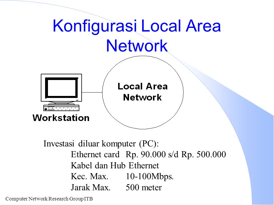 Konfigurasi Local Area Network