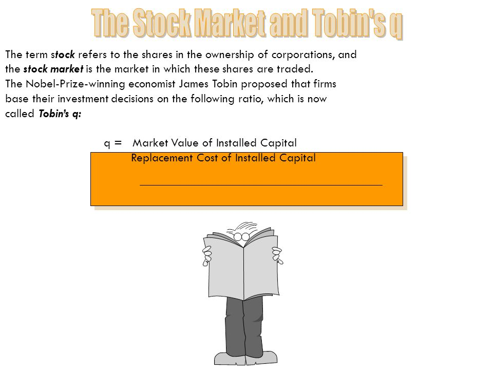 The Stock Market and Tobin s q