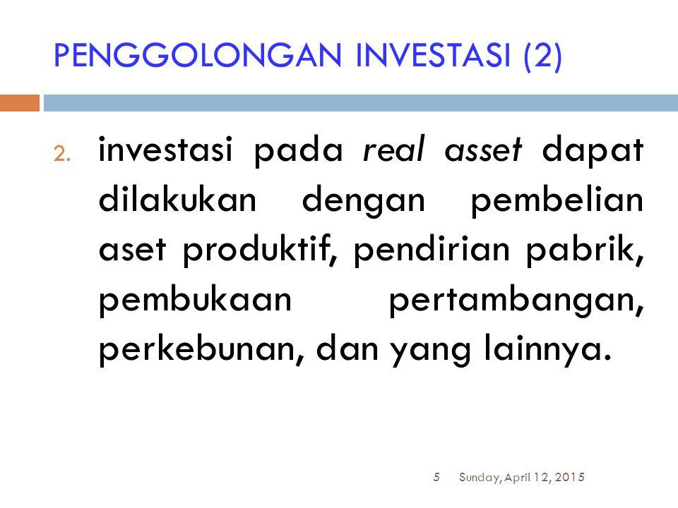 PENGGOLONGAN INVESTASI (2)