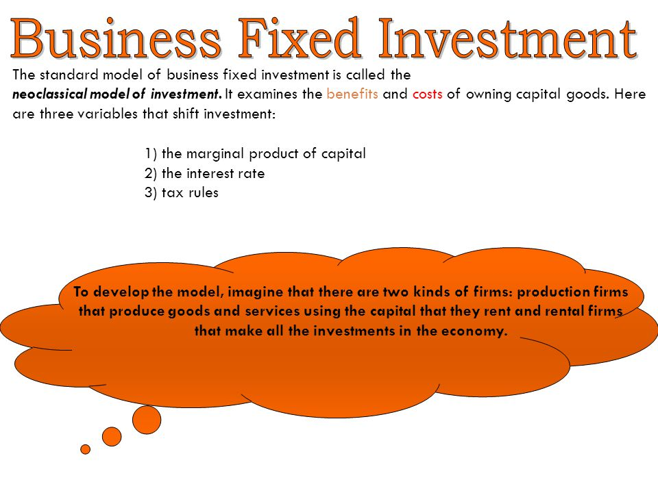 Business Fixed Investment