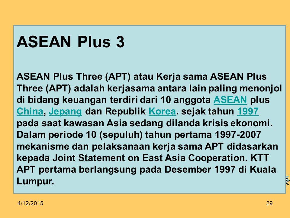 ASEAN Plus 3