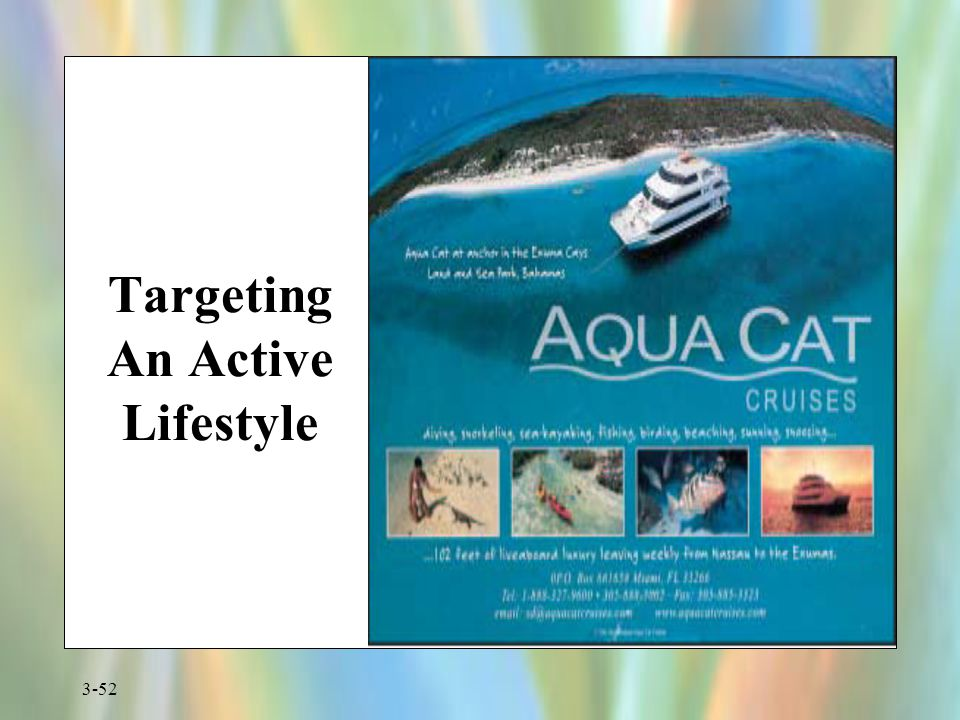 Targeting An Active Lifestyle