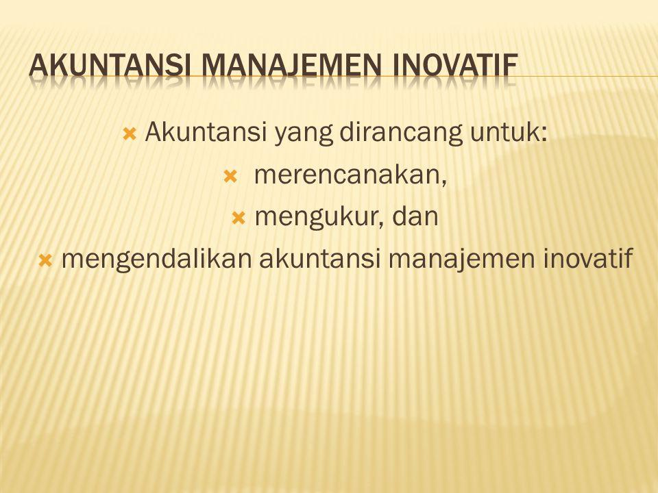 Akuntansi Manajemen Inovatif