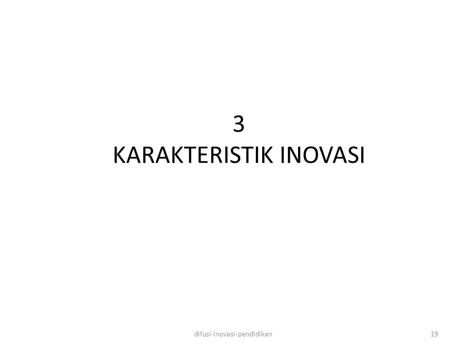 3 KARAKTERISTIK INOVASI