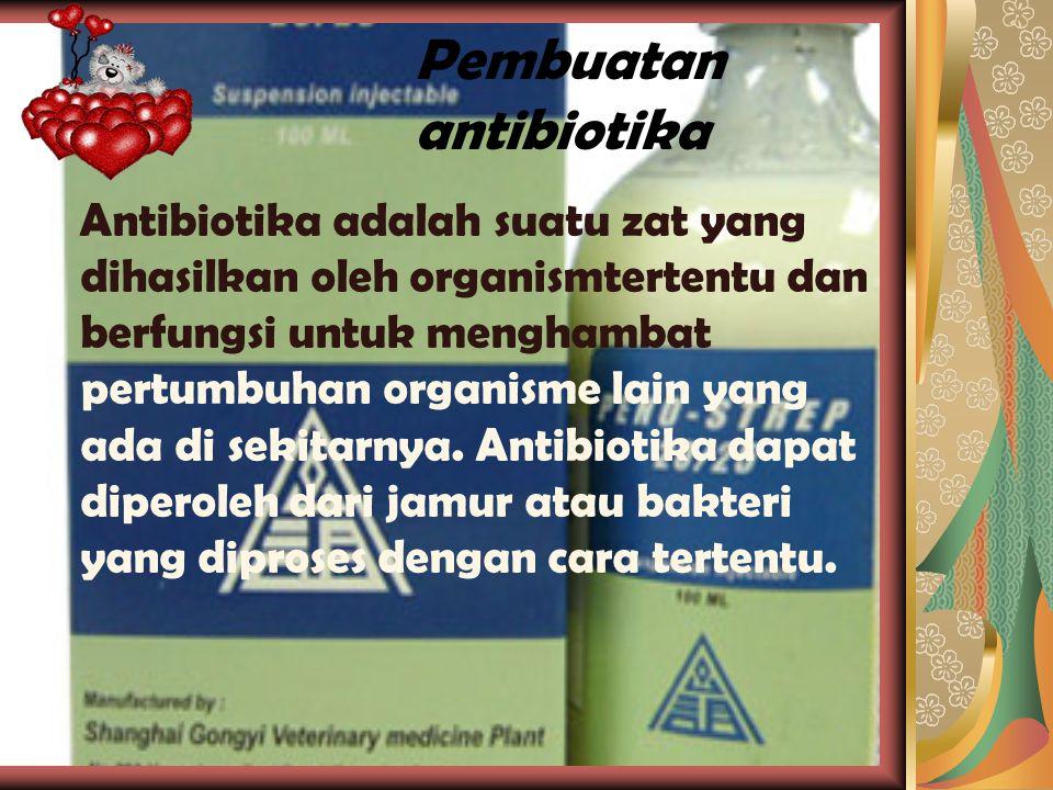 Pembuatan antibiotika