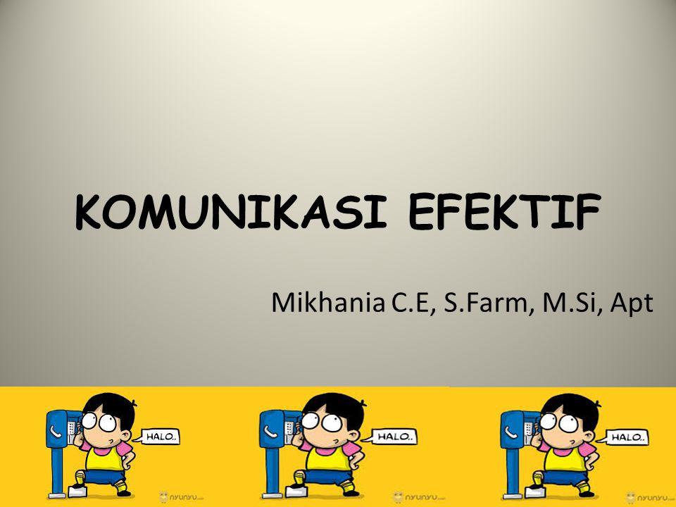 Mikhania C.E, S.Farm, M.Si, Apt