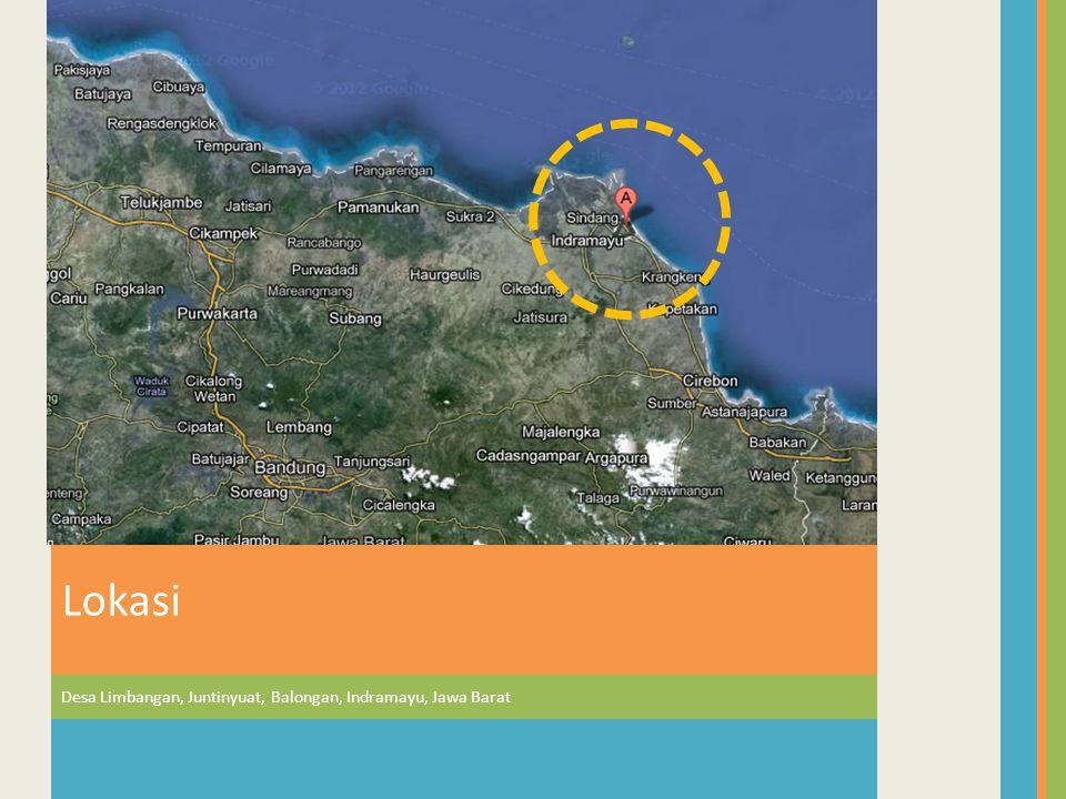 Lokasi Desa Limbangan, Juntinyuat, Balongan, Indramayu, Jawa Barat