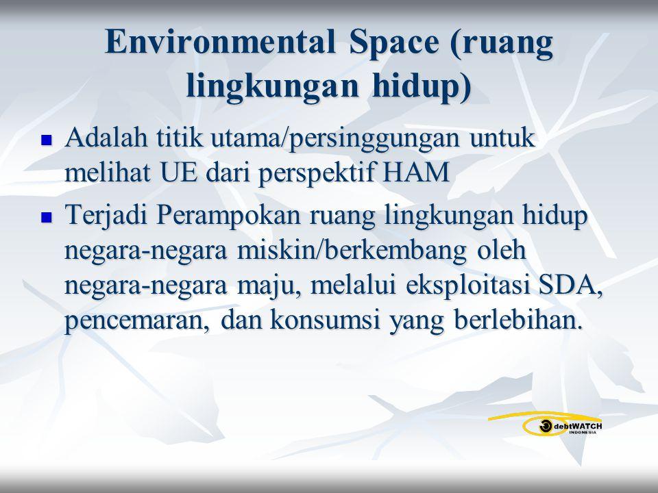 Environmental Space (ruang lingkungan hidup)