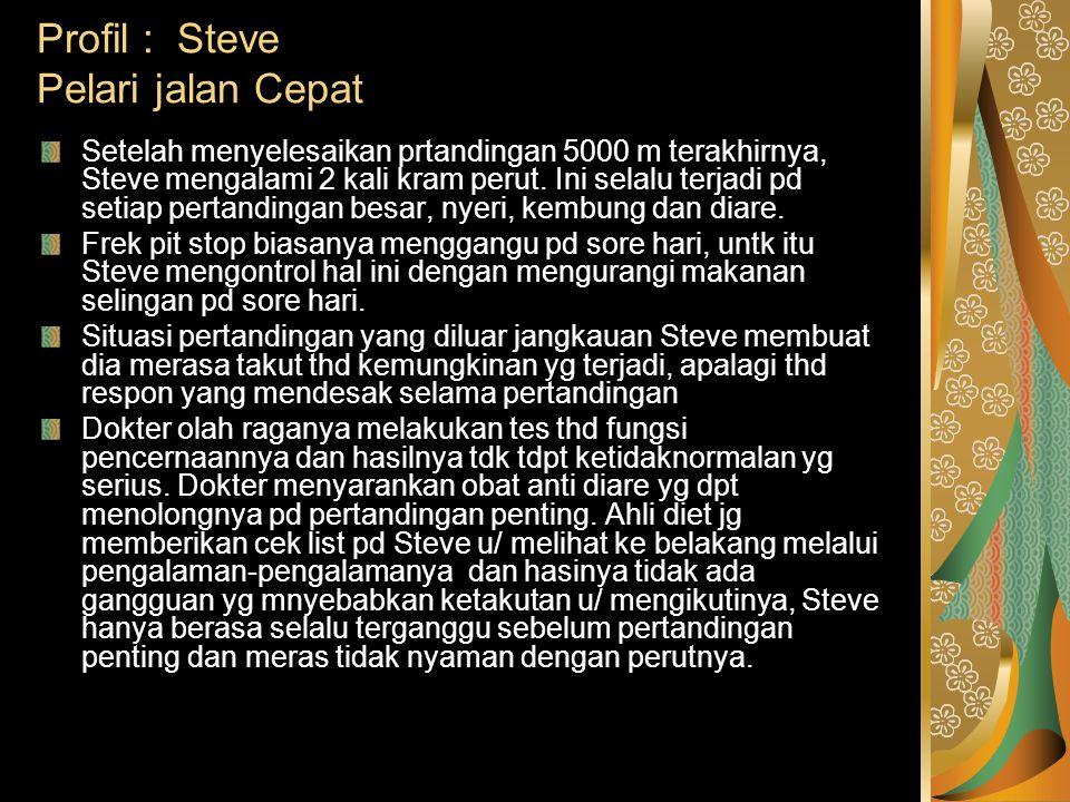 Profil : Steve Pelari jalan Cepat