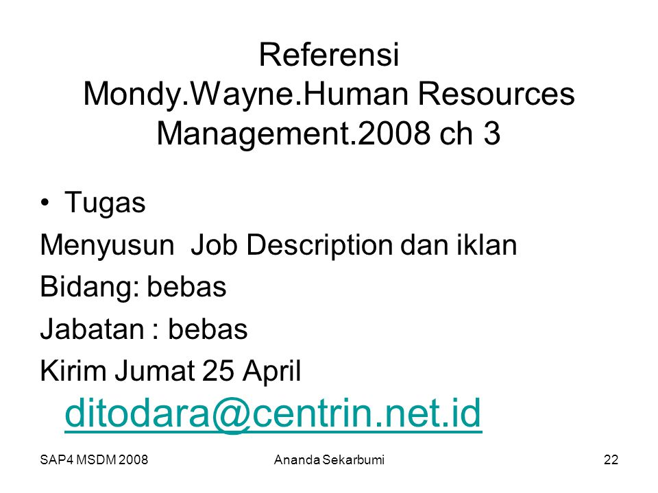 Referensi Mondy.Wayne.Human Resources Management.2008 ch 3