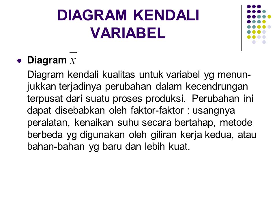 DIAGRAM KENDALI VARIABEL