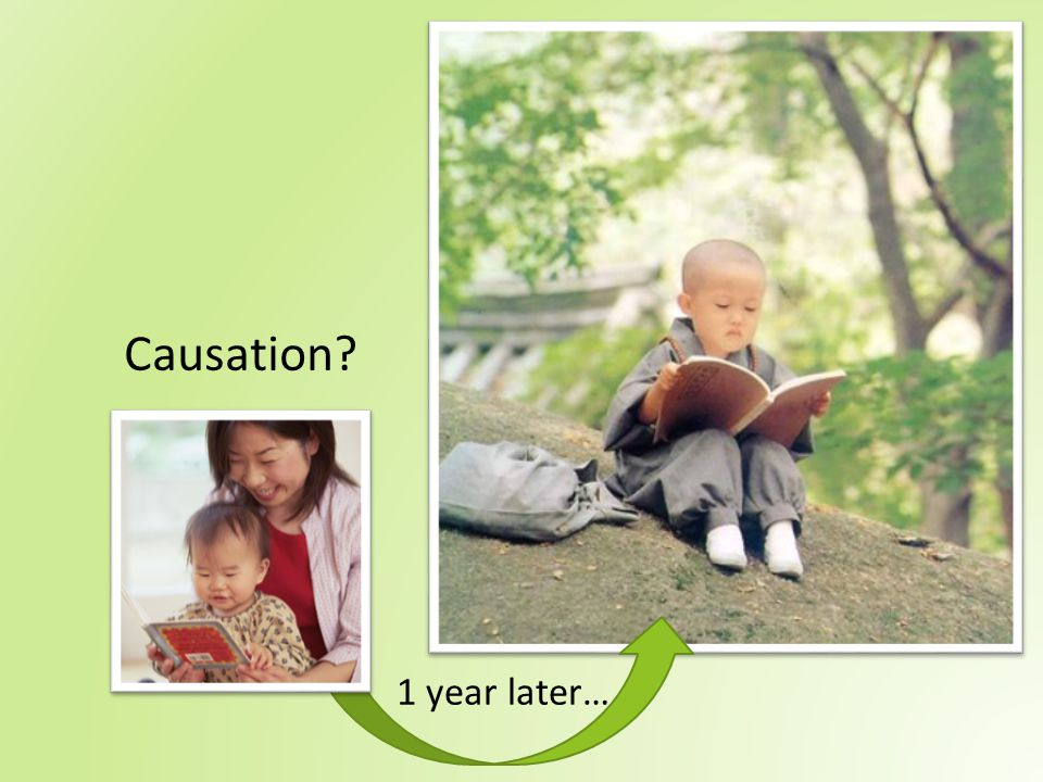 Causation 1 year later…
