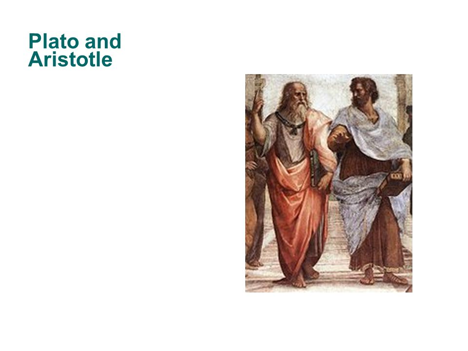 Plato and Aristotle 25