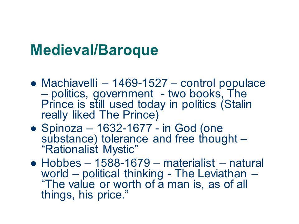 Medieval/Baroque