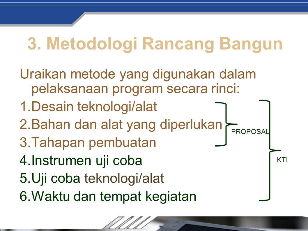 3. Metodologi Rancang Bangun
