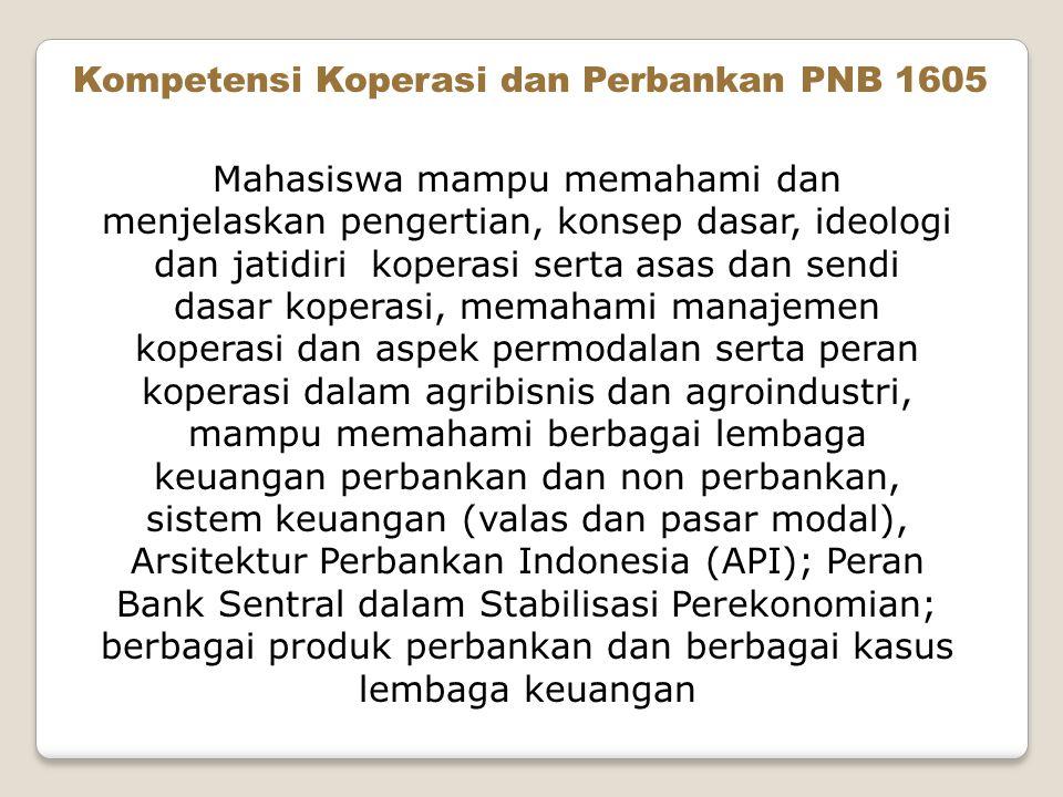 Kompetensi Koperasi dan Perbankan PNB 1605
